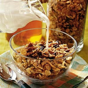 how healthy is granola