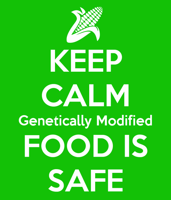 GMO foods are safe