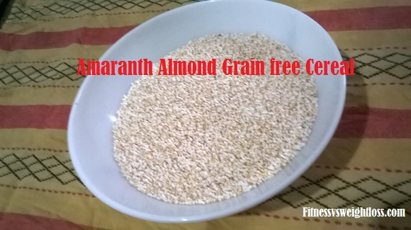 amaranth almond grainfree cereal