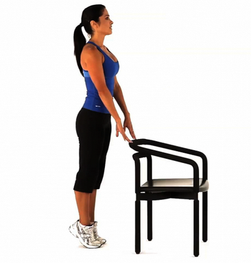 calf lift exercise to tone up calf muscles
