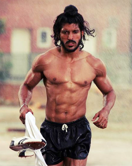 Farhan-Akhtar sculpted abs, Celebs with Sculpted abs