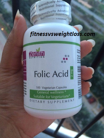 folic acid benefits weight loss