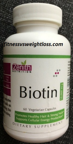 Zenith Nutrition Biotin Review - Indian Weight Loss Blog