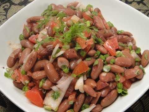 Rajma chaat snacks for weight watchers, Indian Snacks For Weight Watchers