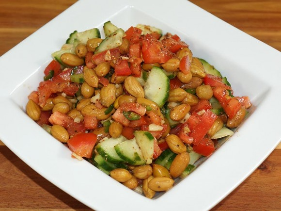 peanut chaat, Indian Snacks For Weight Watchers