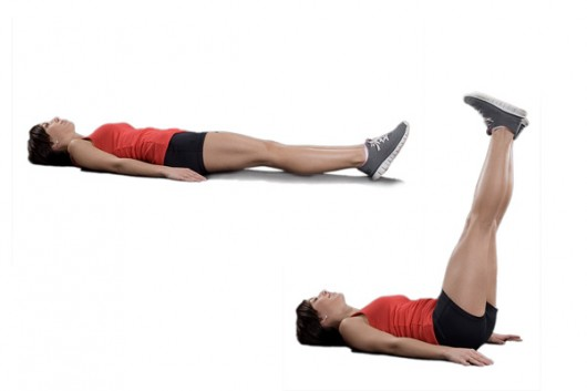 Leg-Drops-Exercise how to make abs workout better