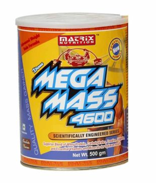Matrix-Nutrition-Mega-Mass weight gain supplement, Weight Gain Products In India