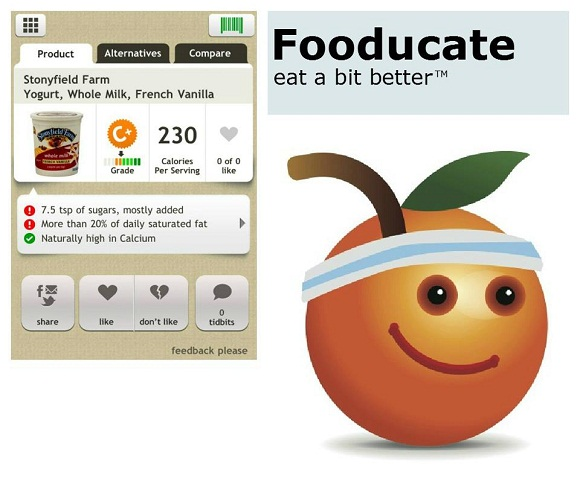 weight loss app fooducate