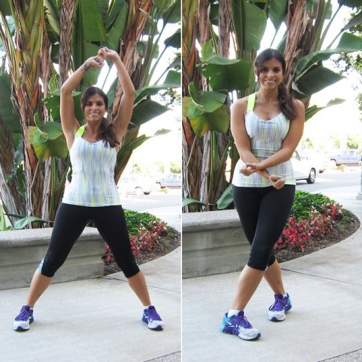 criss-cross-jacks, Inner Thigh Exercises