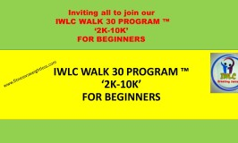 IWLC WALK 30 PROGRAM ™ '2K-10K' FOR BEGINNERS