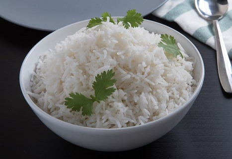 cooked rice - easy to digest food