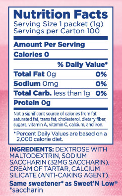 calorie sweetener equal products review indian weight loss blog