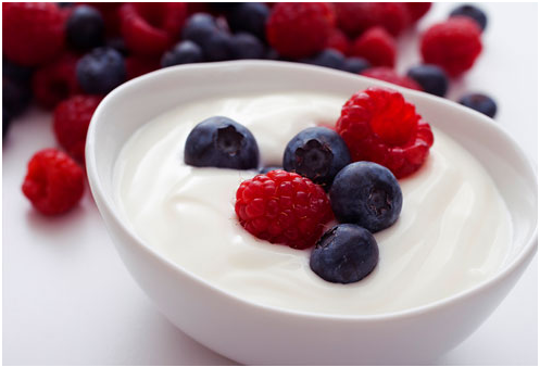 Quick And Healthy Breakfast Ideas For Weight Loss yoghurt fruits