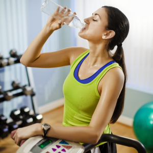 Drinking Water During Workout