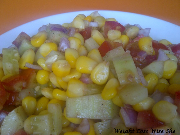 Quick Healthy Corn Salad Recipe