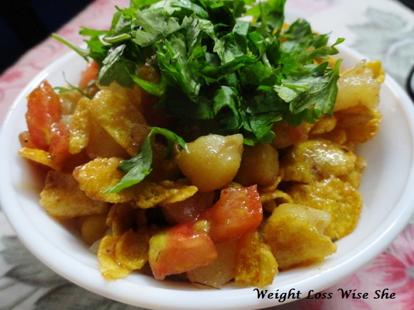 Heathy Diet Chaat Recipe For Weight Loss 2
