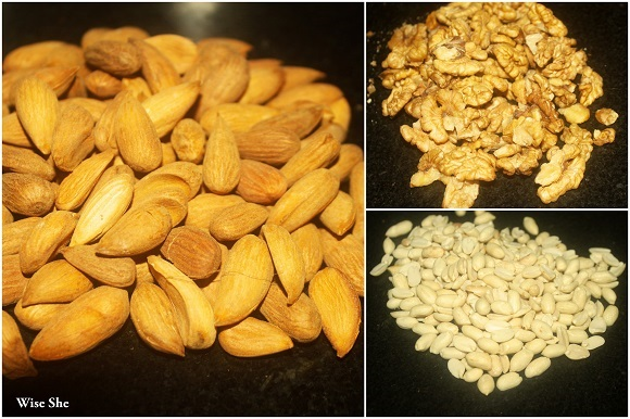 Nuts recipe paleo+high carbs
