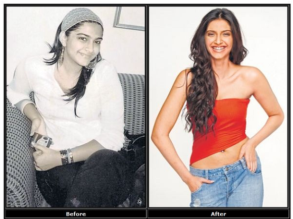 Sonam Kapoor From Fat To Fit weightloss