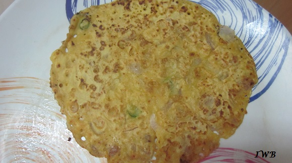 Gram Flour(Besan) Pancake Recipe | High Protein Recipe India