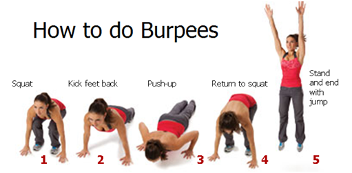 how to do burpees weight loss