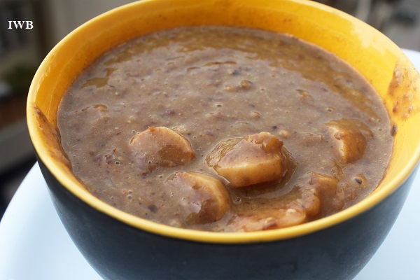 kidney bean and sausages recipe