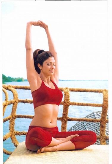 Shilpa Shetty's Post Baby Weight Loss Secrets yoga