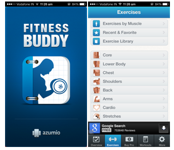 Top 6 Free Health and Fitness apps fitness buddy