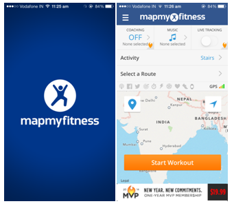 Top 6 Free Health and Fitness apps map my fitness