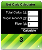 net carb calculator