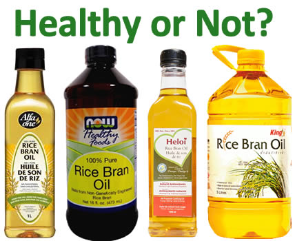why is rice bran oil healthy for you