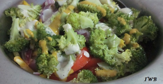 Quick Low Carb Vegetable Salad Recipe (3)