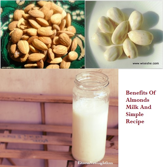 benefits of almond milk in weight loss