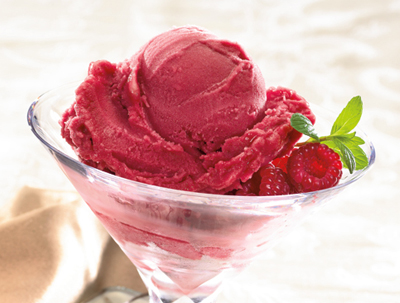 fruit sorbet healthy italian food