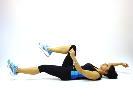 Dead-Bug exercise to tone abs