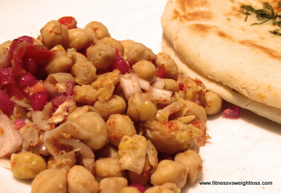 Quick Chick Pea Salad For Low Carbers 1