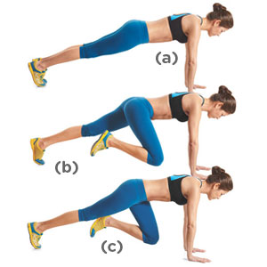 mountain climbers weight loss