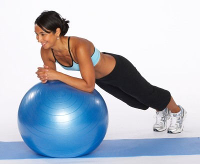 exercise ball abs