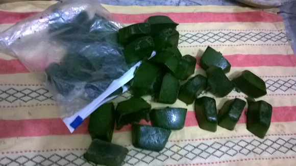 spinach cubes