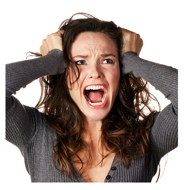 Angry Woman ways to control anger