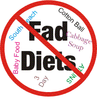 Baby food diet a fad diet