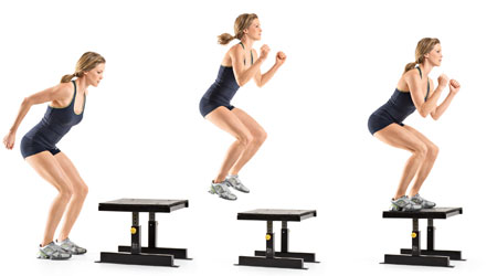 Box Jumps for weight loss