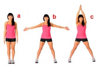 burn 200 cal in 20 mnts jumping jacks