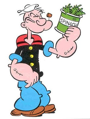 popeye spinach weight loss