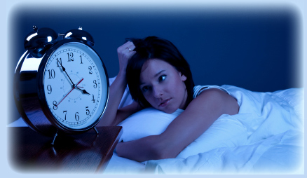 woman insomnia causes and symptoms