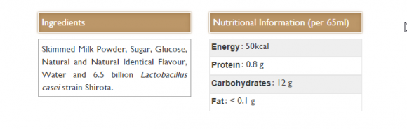 yakult nutrition pic