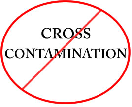 Dealing with food allergies- cross contamination