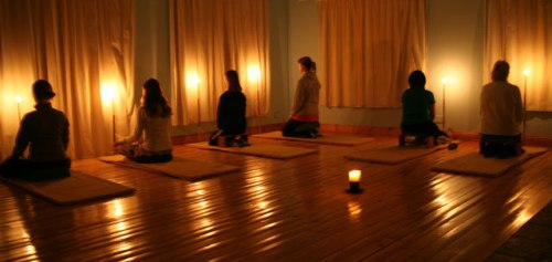 How to practice candle meditation 2