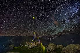 triund at night