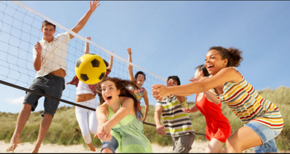 Beach volleyball- sports that aid weight loss