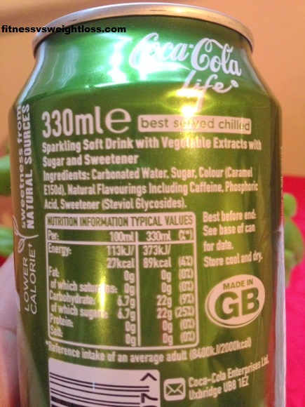 Coke life label